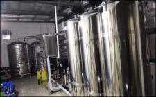 1.0吨全不锈钢双级反渗透纯水设备