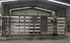 30吨一级反渗透纯水设备