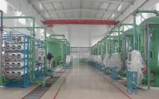 150吨一级反渗透纯水设备