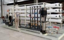 20吨二级反渗透纯水设备