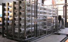 50吨二级反渗透纯水设备
