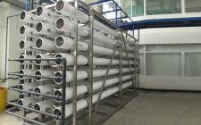 60吨二级反渗透纯水设备