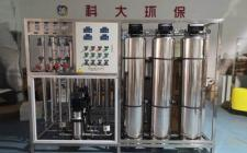 0.5吨口罩生产用纯化水设备